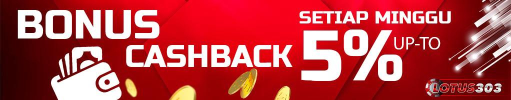 bonus cashback casino online